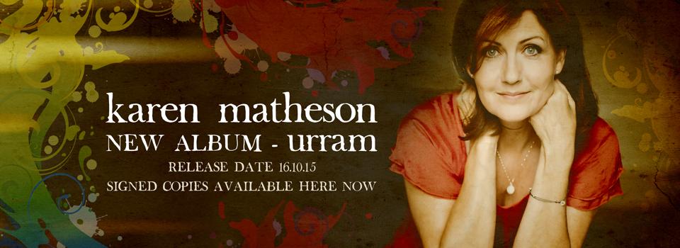 Pre-order Urram by Karen Matheson on Vertical Records